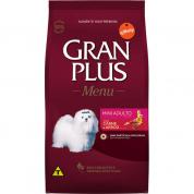 Ração Gran Plus Menu Carne e Arroz Cachorros Adultos Mini 15kg
