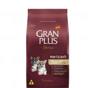 Ração Gran Plus Menu Carne e Arroz Cachorros Filhotes Mini 1kg