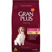 Ração Gran Plus Menu Light Frango e Arroz Cachorros Adultos 15kg