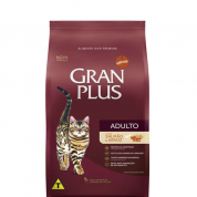 Ração Gran Plus Salmão e Arroz Gatos Adultos 3kg
