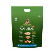 Ração Guabi Natural Cachorros Adultos Raças Mini e Pequenas Frango e Arroz Integral 2,5kg