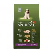 Ração Guabi Natural Cachorros Filhotes Raças Médias Frango e Arroz Integral 15kg