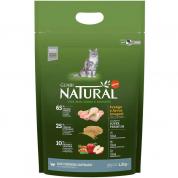 Ração Guabi Natural Frango e Arroz Integral Gatos Sênior Castrados 1,5kg