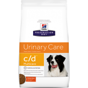 Ração Hills Prescription Diet Cachorros Urinary Care C/D Multicare 3,8kg
