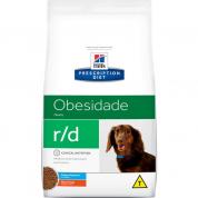 Ração Hills Prescription R/D Obesidade Cachorros Pedaços Pequenos 1,5kg