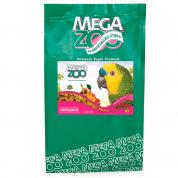 Ração MegaZoo para Papagaios Frutas e Legumes 4kg