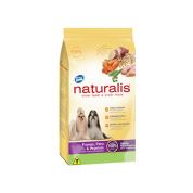 Ração Naturalis Adulto Frango, Peru e Vegetais Cachorros Raças Pequenas 2kg