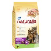 Ração Naturalis Gatos Castrados Frango e Peru 1kg