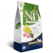 Ração N&D Grain Free Cães Adultos Raças Pequenas e Miniaturas Cordeiro e Blueberry 10,1kg