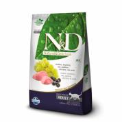 Ração N&D Grain Free Gatos Adultos Cordeiro e Blueberry 10,1kg
