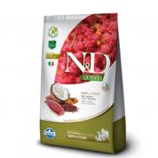 Ração ND Skin & Coat Pato, Quinoa, Cúrcuma e Coco Cachorros Adultos 2,5kg