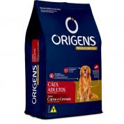Ração Origens Carne e Cereais Cachorros Adultos 15kg