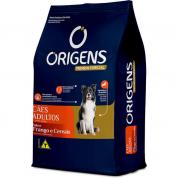 Ração Origens Frango e Cereais Cachorros Adultos 15kg