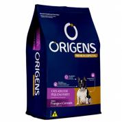 Ração Origens Frango e Cereais Cachorros Pequeno Porte 3kg