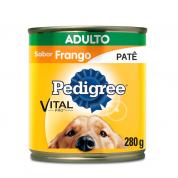 Imagem - Ração Pedigree Frango Adulto Lata 280g