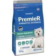 Imagem - Ração Premier Ambientes Internos Cachorros Adultos Frango e Salmão 1kg