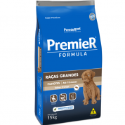 Ração Premier Fórmula Cachorros Filhotes Raças Grandes Frango 15kg