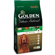 Ração Golden Seleção Natural Cães Adultos Frango e Arroz 15kg