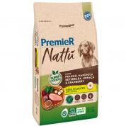 Ração Premier Nattu Cachorros Filhotes Mandioca 10,1kg