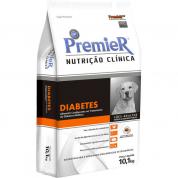 Ração Premier Nutrição Clínica Diabetes Cachorros Adultos Médio e Grande Porte 10,1kg
