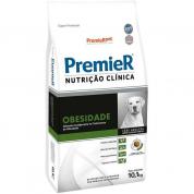 Ração Premier Nutrição Clínica Obesidade Cachorros Porte Médio e Grande 10,1kg