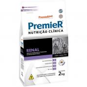 Ração Premier Nutrição Clínica Renal Cachorros Adultos 2kg