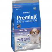 Ração Premier Raças Específicas Cachorros Filhotes Shih Tzu 2,5kg