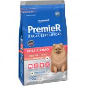 Ração Premier Raças Específicas Spitz Alemão Cachorros Adultos 2,5kg
