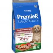 Ração Premier Seleção Natural Cachorros Adultos Raças Pequenas Frango e Batata Doce 10,1kg