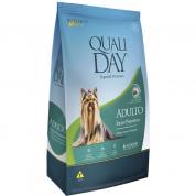 Ração Qualiday Cachorros Adultos Raças Pequenas Frango, Arroz e Vegetais 3kg
