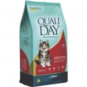 Ração Qualiday Gatos Adultos Carne e Arroz 10,1kg