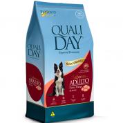 Ração Qualiday Sabores Cachorros Adultos Carne, Frango e Arroz 3kg