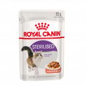 Imagem - Ração Royal Canin Gatos Sterilised Castrados Sachê 85g