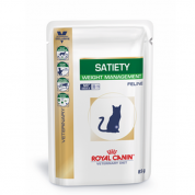 Ração Royal Canin Satiety Weight Management Wet Gatos Sachê 85g