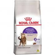 Ração Royal Canin Sterilised Appetite Control Gatos Castrados 1,5kg