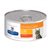 Alimento Úmido Hills Prescription Diet C/D Urinary Care Gatos Adultos 82g