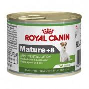 Ração Úmida Royal Canin Mature +8 Cães Acima 8 anos 195g