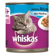 Imagem - Ração Úmida Para Gatos Whiskas Lata Atum ao Molho 290g
