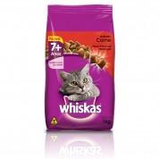 Ração Whiskas 7+ Anos Envelhecimento Saudável Sabor Carne 1kg