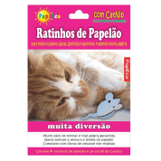 Ratinhos de Papelão com Catnip