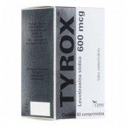 Repositor Hormonal Tyrox 600mcg 60 comprimidos