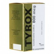 Repositor Hormonal Tyrox 800mcg 60 comprimidos