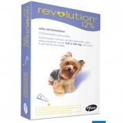 Revolution 12% Antipulgas Cães De 2,5 A 5 Kg - 1 Ampola