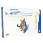 Revolution 6% Gatos de 2,5 a 7,5 kg  Caixa com 3 Unidades