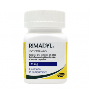 Rimadyl 25mg Frasco - 14 Comprimidos