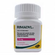 Rimadyl 75mg Frasco - 14 Comprimidos