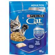 Sachê Cat Chow Adultos Peixe 85g