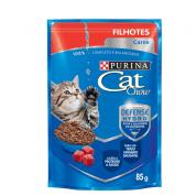 Sachê Cat Chow Filhotes Carne 85g