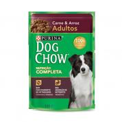 Sachê Dog Chow Adultos Carne e Arroz 100g
