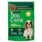 Sachê Dog Chow Adultos Raças Pequenas Carne e Arroz 100g